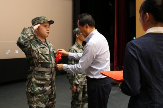 青春向祖国报到——北语举办2019年入伍大学生士兵出征仪式