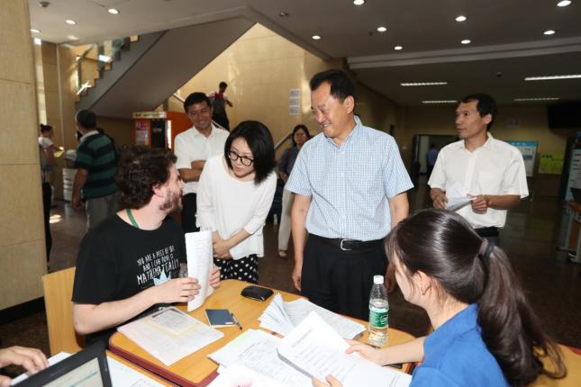 北京语言大学喜迎2019级国际新生